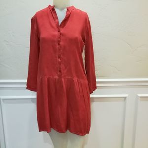 Porridge rust colored tunic